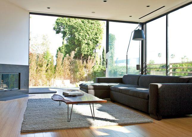 rugged good looks living room