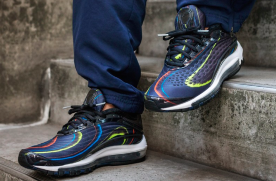timeless design d3c9d f98ca Nike Air Max Deluxe Black Multicolor Arriving This Week The Nike Air Max  Deluxe Black Multicolor