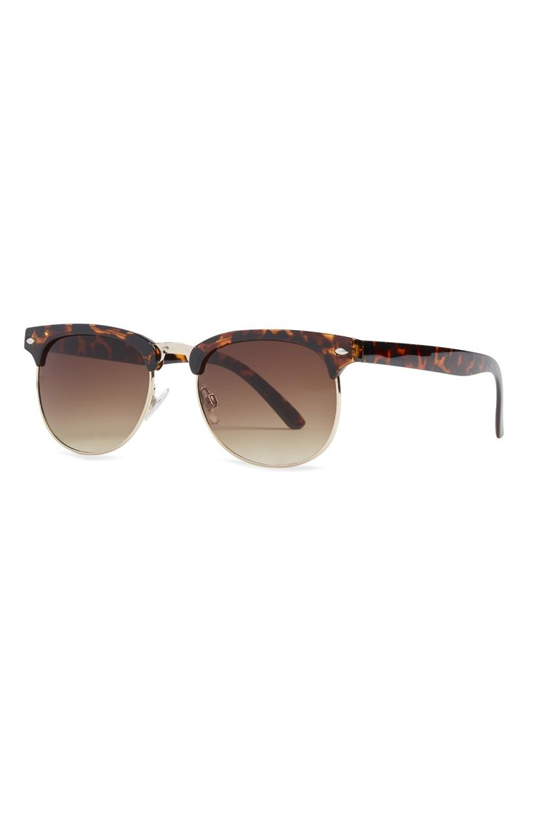 10ebc311aaa9b Primark - Óculos de sol retro castanho