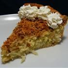 Coconut Custard Pie - the addition of the caramelized topping takes this over the top!