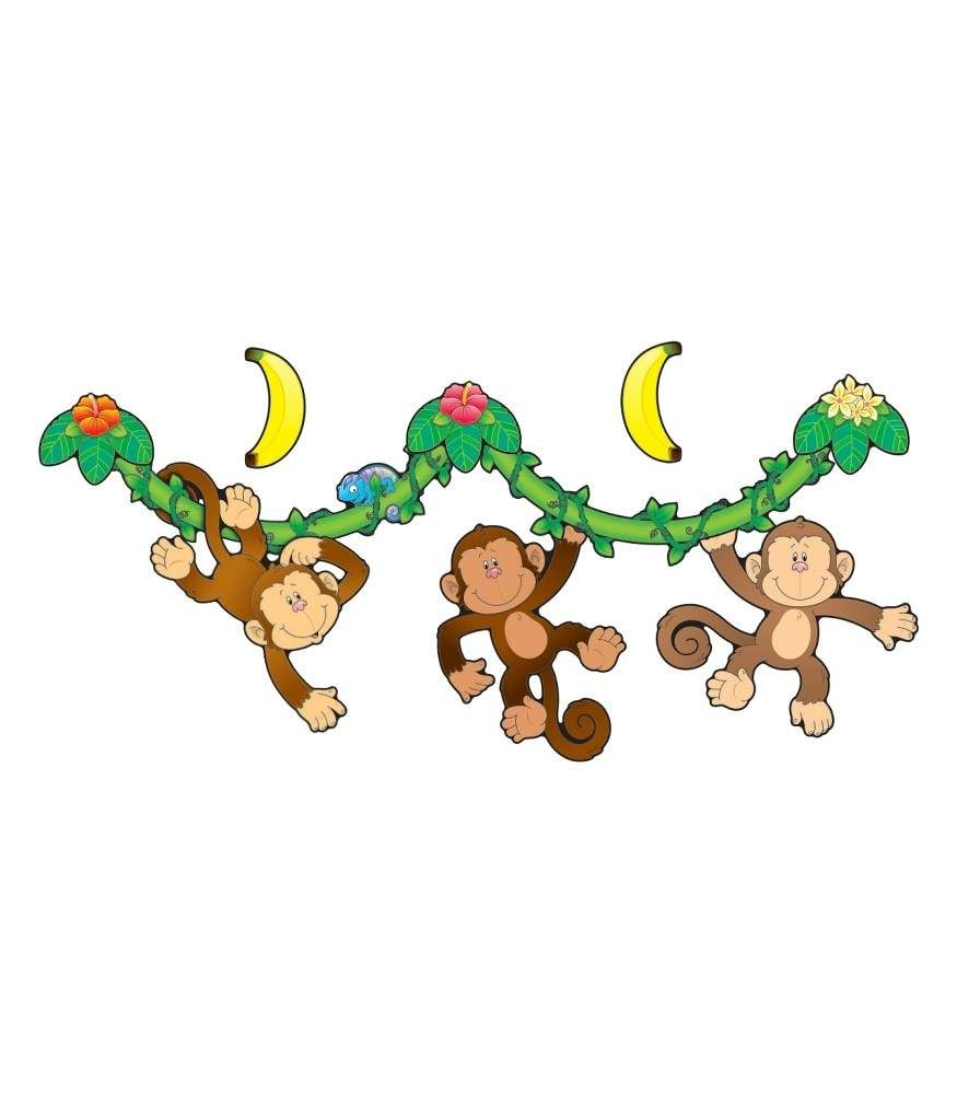monkey bulletin board set bulletin boards pinterest monkey