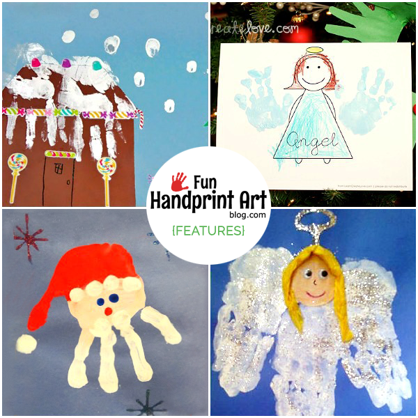 Handprint gifts for christmas