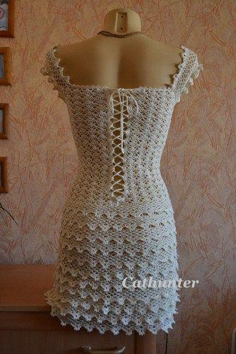 Crochet Dress Pattern Diagrams Pdf Crochet Pinterest Crochet
