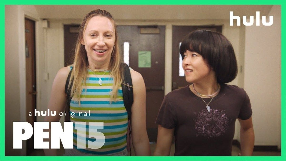 "Pilots and Petards Ep 67 PEN15 ""First Day"" Hulu"