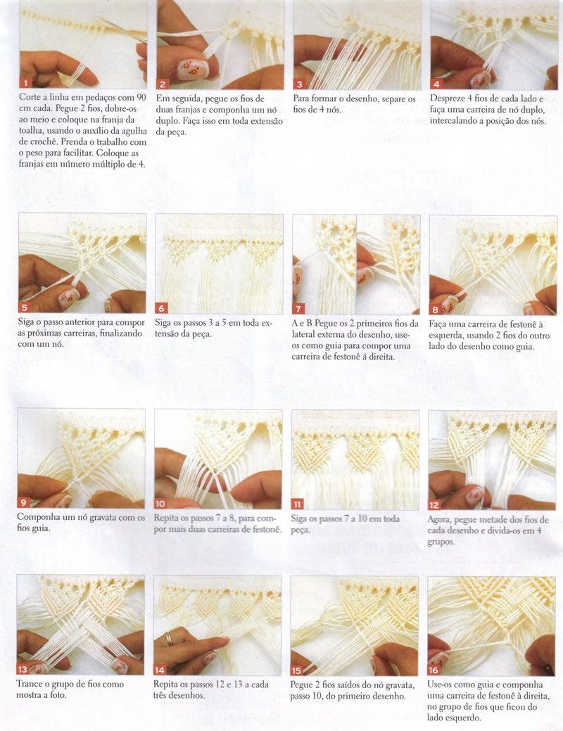 como fazer coruja de macrame