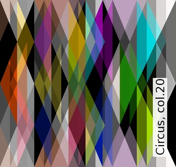 Circus, col20 Tapeten, Wohnideen und Handarbeiten - tapeten und farben