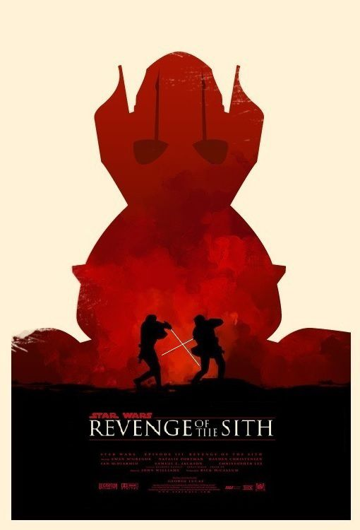 General Grievous Star Wars Poster Star Wars Sith Star Wars Art