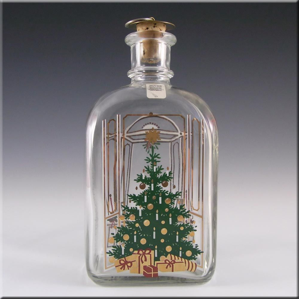 Holmegaard Glass 'Christmas' Decanter by Michael Bang £19.99