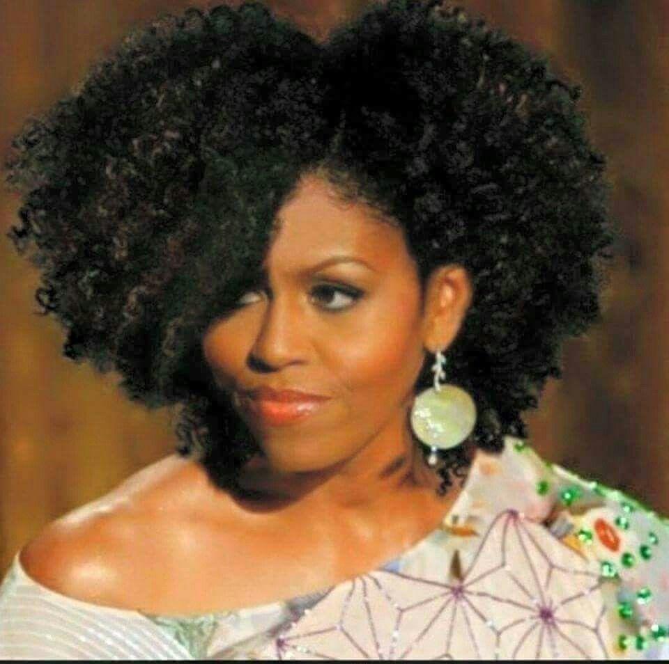 1st Lady Rockin That Hair Style I Love It Natural Hair Styles Curly Hair Styles Black Natural Hairstyles