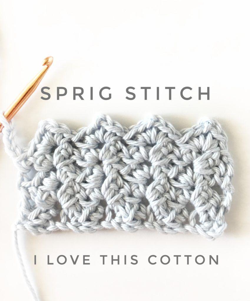 Sprig Stitch - Daisy Farm Crafts | Crochet-stitches and stitch ...