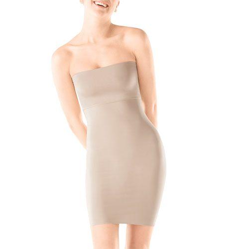 Strapless Dress Slip Spanx Full 39 99 Free S H