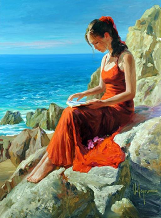 Resultado de imagen para mujeres hermosa pintura