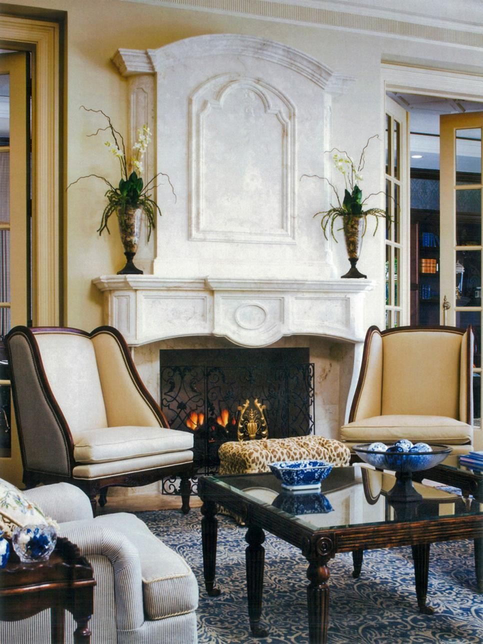 Miera Melba\'s Design Portfolio | Stone fireplace surround ...