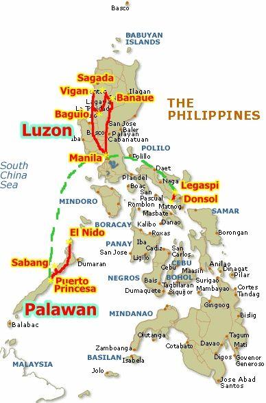 Filipinas Ruta Y Precios De Referencia Viajes Con