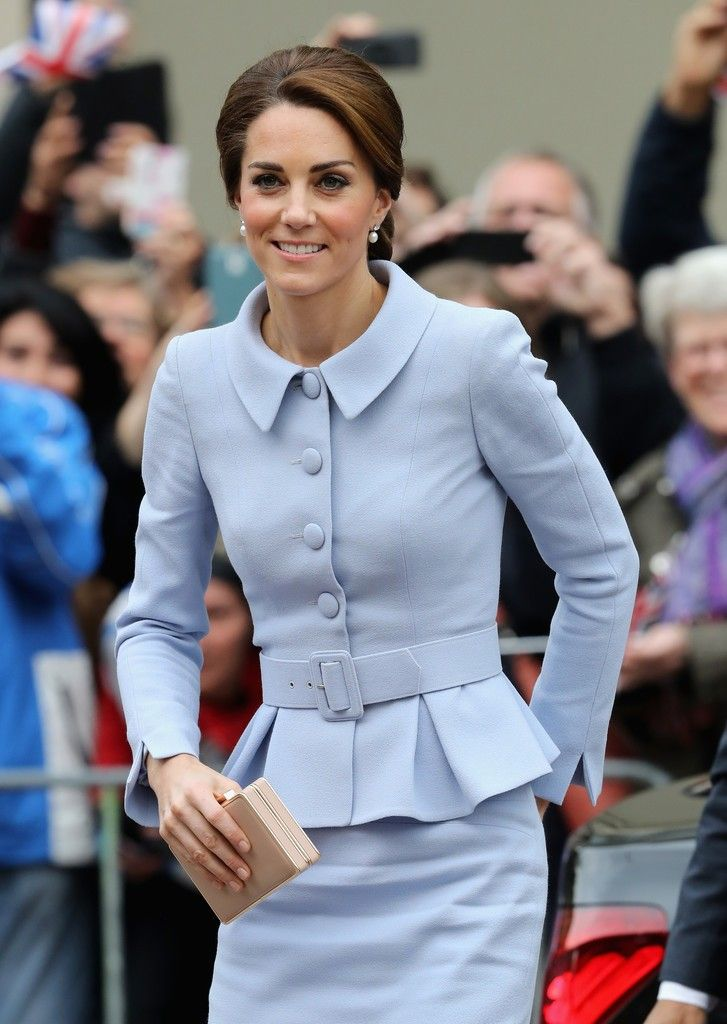 The Duchess of Cambridge is in the Netherlands for a day of engagements in the Hague and Rotterdam