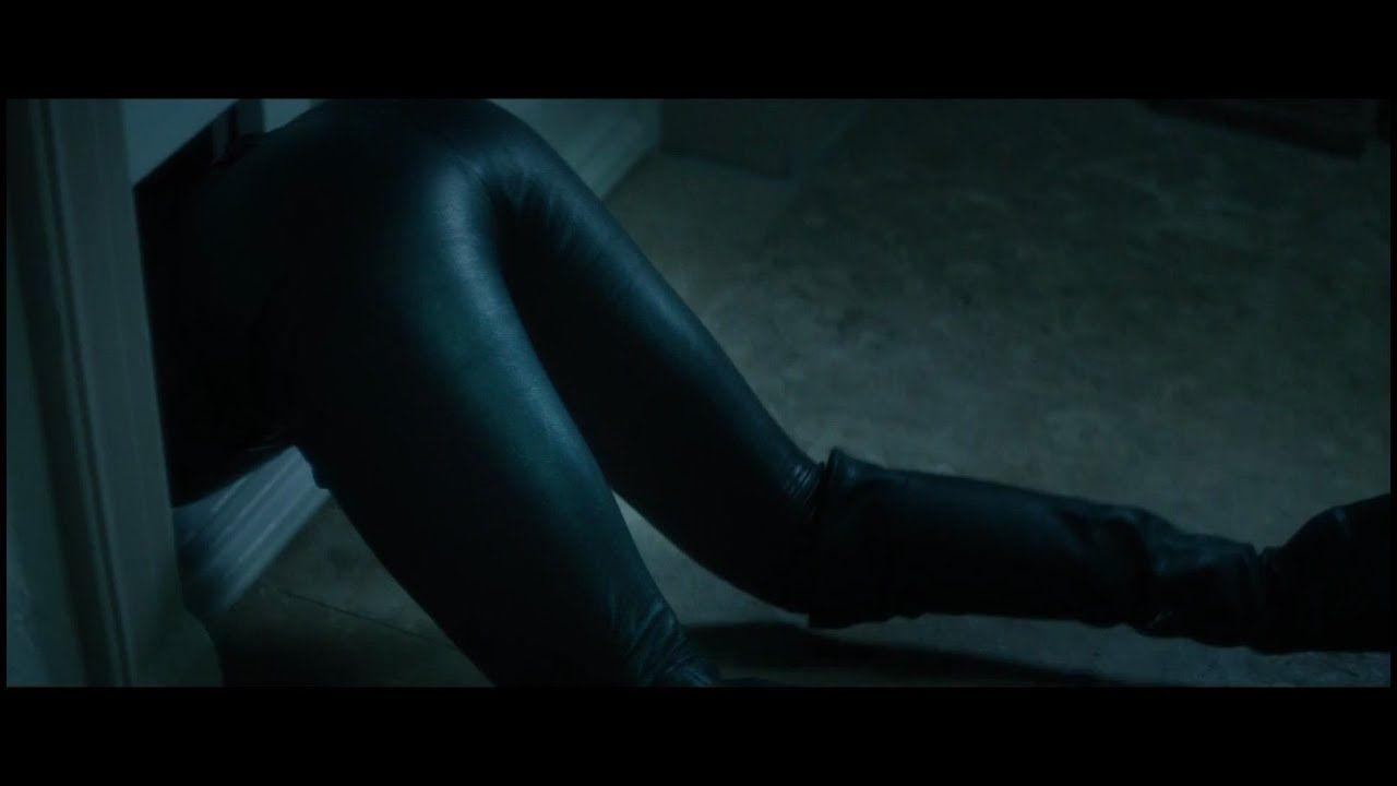 Veronica F Black Leather Catsuit Unter Deutschen Betten