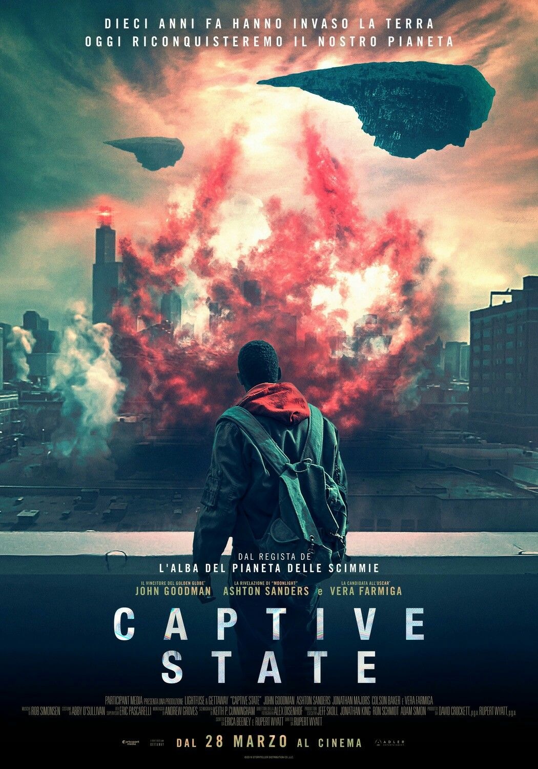 New Italian Poster For The Sci Fi Captive State Captivestate