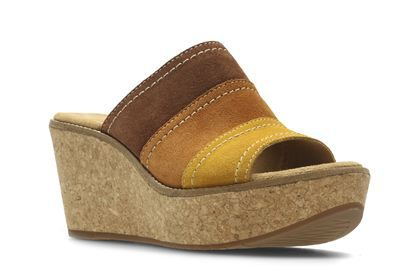 e932128ca254c Clarks Aisley Lily - Tan Combi - Womens Casual Sandals   Clarks ...