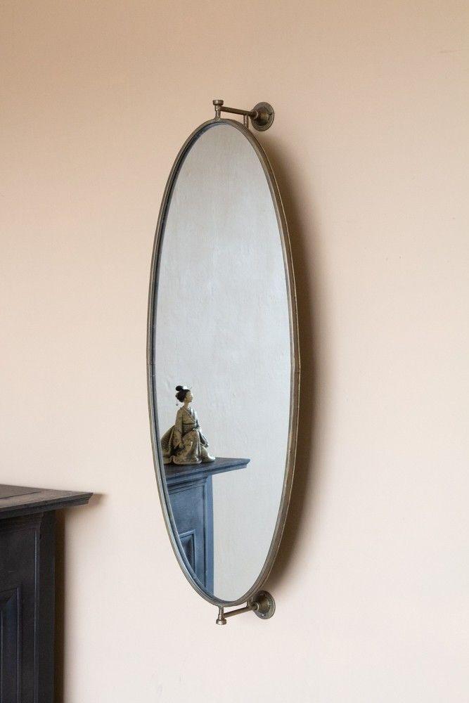 oval swivel wall mirror in 2020 mirror wall mirror on mirror wall id=56888