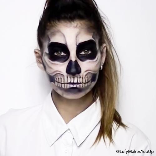 Quatang Gallery- Maquillage Tete De Mort Quel Maquillage Tete De Mort Choisir Maquillage Tete De Mort Maquillage Halloween Qui Fait Peur Maquillage Halloween