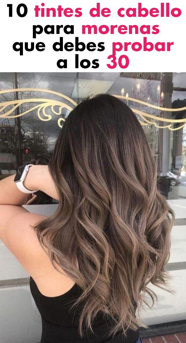10 tintes de cabello para morenas que debes probar a los 30