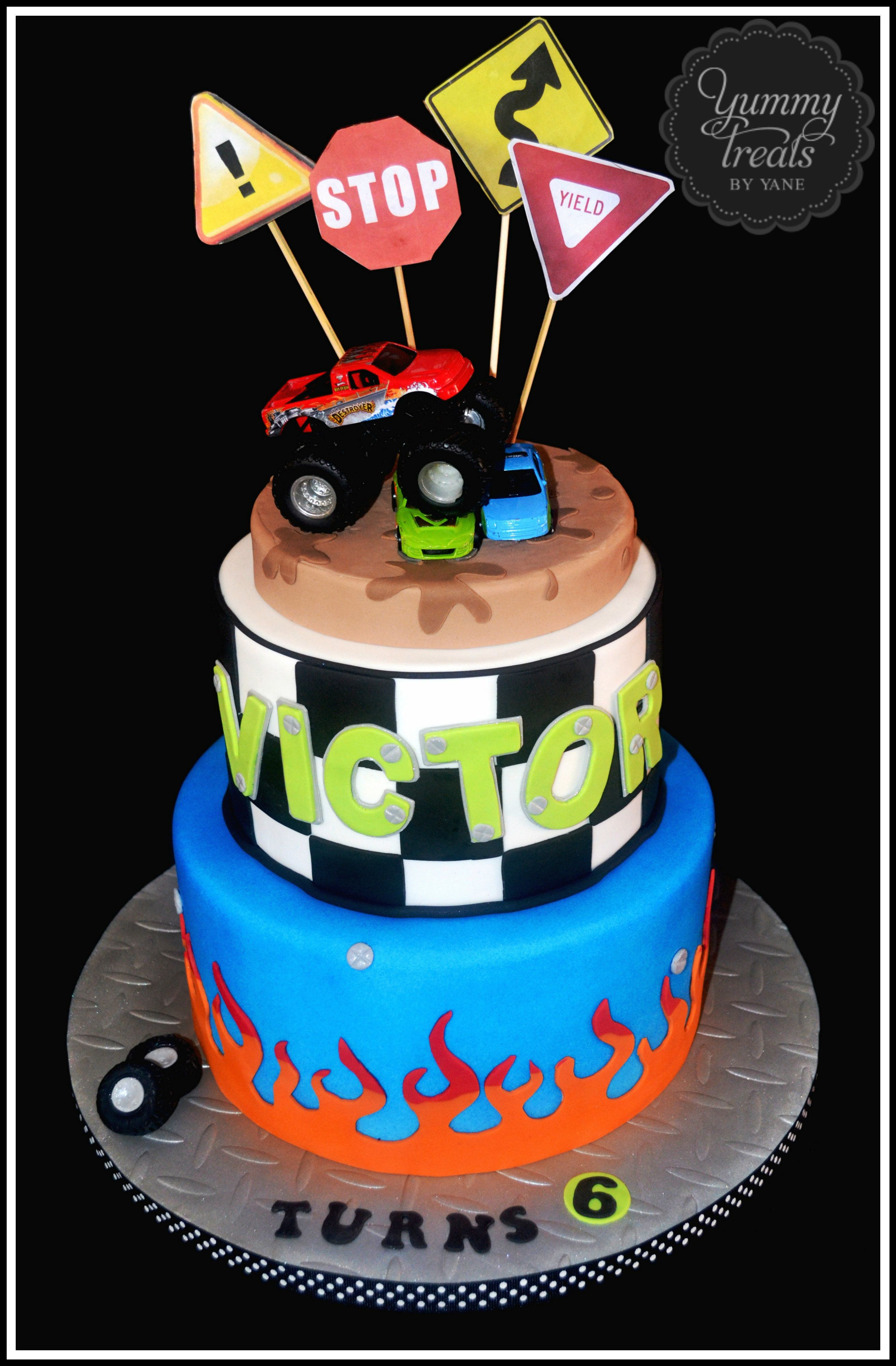Monster Truck Cake Flickr