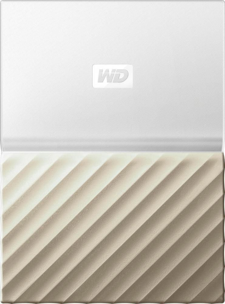 White-Gold... WD 1TB My Passport Ultra Portable External Hard Drive USB 3.0