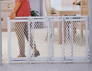 Extra Wide Accordion Fold Supergate Baby Safety Gate Diy Baby Gate Best Baby Gates Outdoor pet gate extra wide