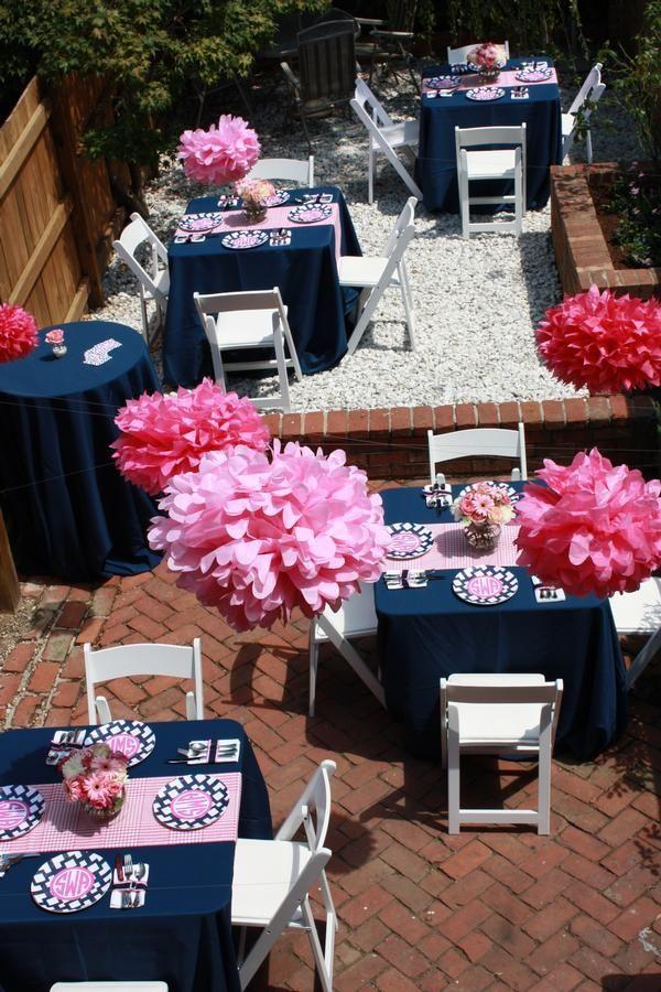 Chloe Bleu Navy Blue And Pink Inspirations Navy Baby