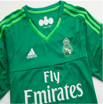 hot sale online 8e3ed cebd7 Thailand Real Madrid 2018 second goalkeeper shirt | shirts ...