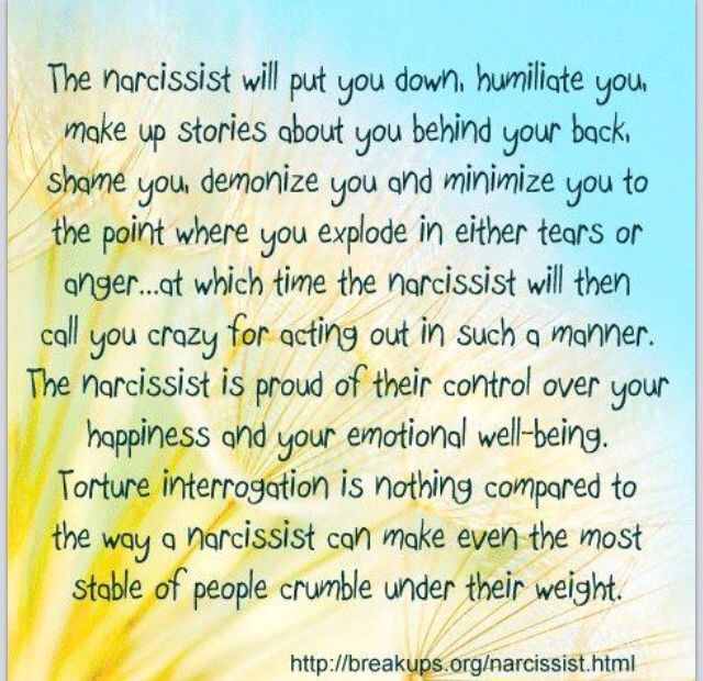 Fakten über narzisstische Persönlichkeitsstörung