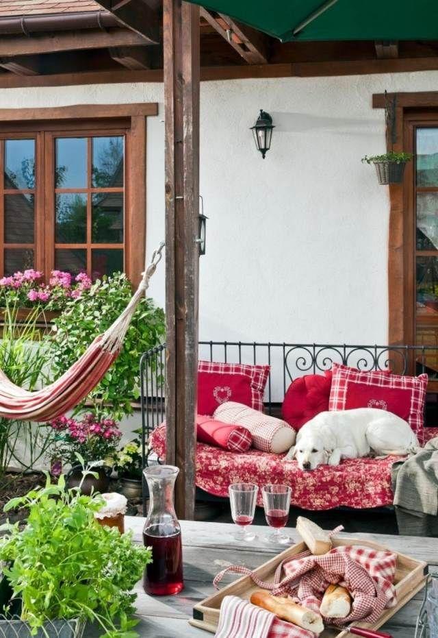 tipps zur balkongestaltung - kleinen balkon pfiffig dekorieren, Gartengerate ideen