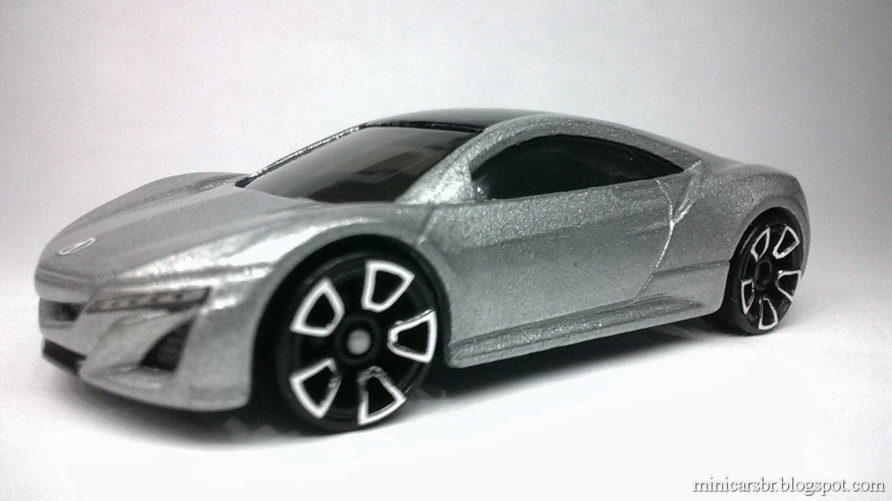 Minicarsbr: Acura NSX Concept - Hot Wheels 2013