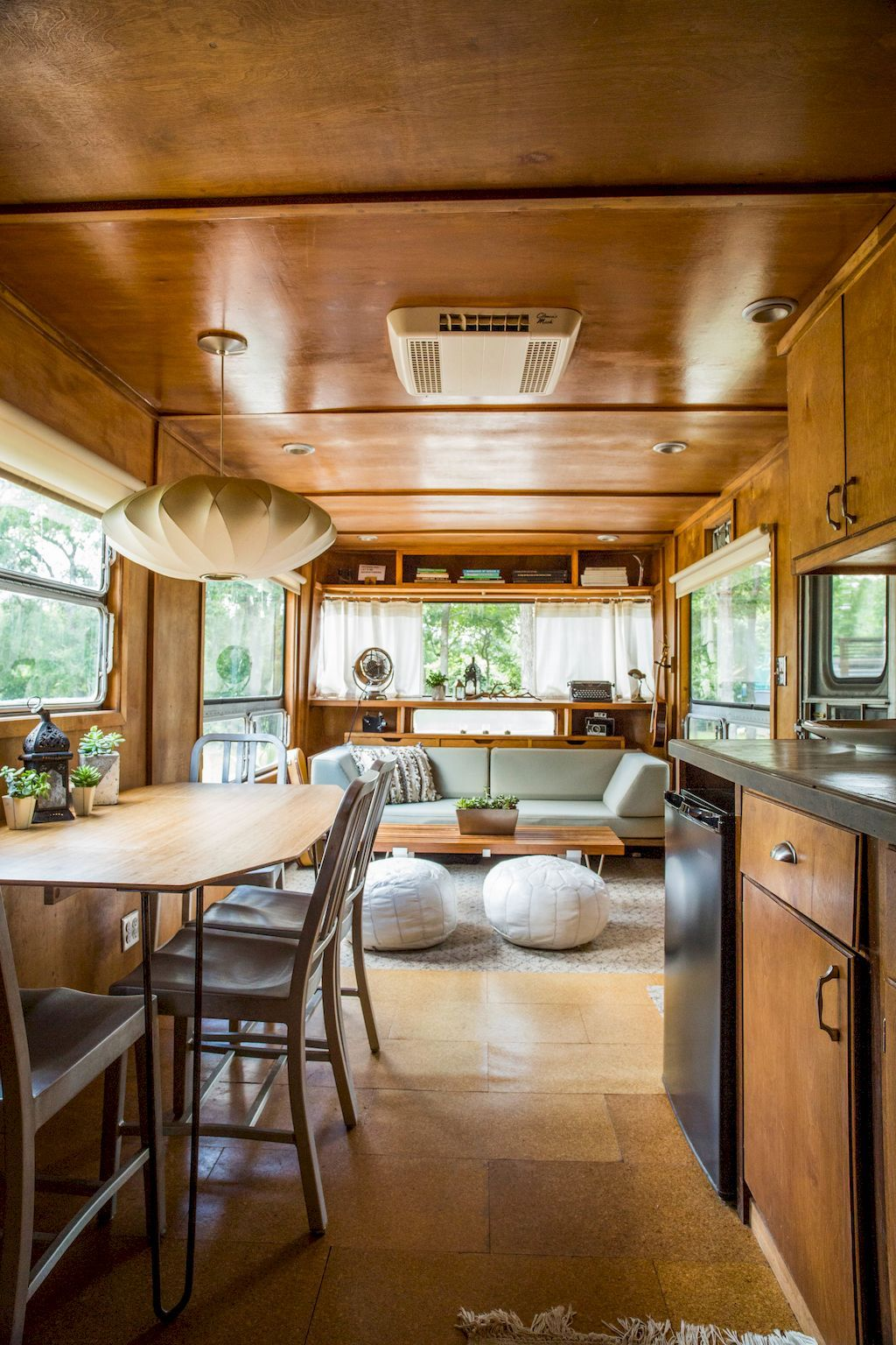 90 Modern RV Living Remodel Travel Trailers Ideas