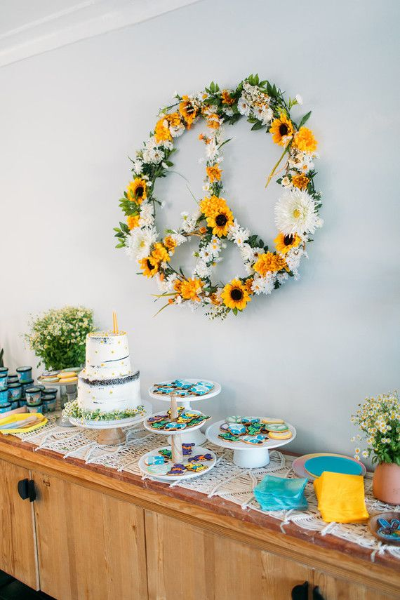 Grateful Dead themed 2nd birthday party   Browse Wedding & Party Ideas