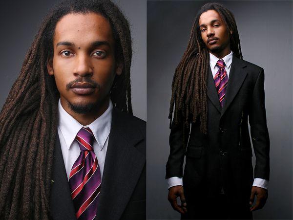 ebony white man dreads amateur