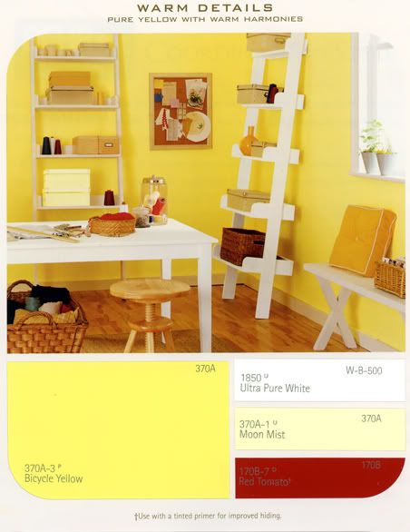 bicycle yellow paint color for jade 39 s new room jade. Black Bedroom Furniture Sets. Home Design Ideas