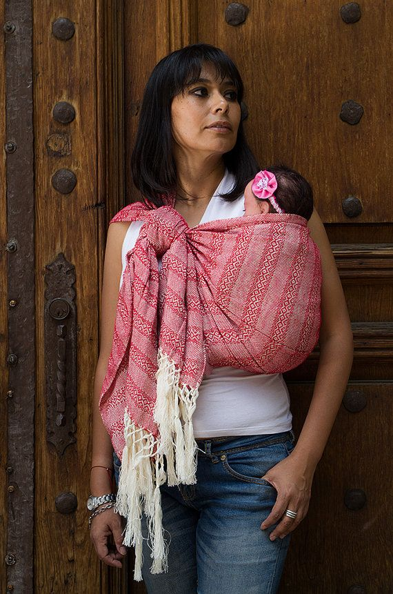 4001686f371 Baby carrier wrap multipurpose mexican rebozo sling w  user s guide ...