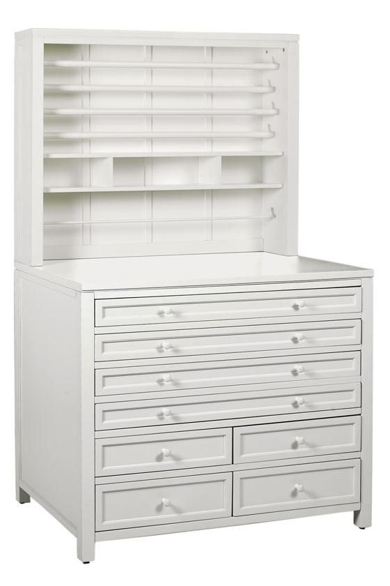 Martha Stewart Living™ Craft Space Eight-Drawer Flat-File Cabinet ...