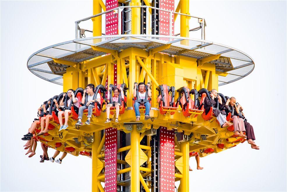 Trò chơi mạo hiểm Golden Sky Tower