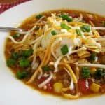 Crock pot taco soup #crockpotgumbo