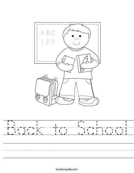 back to school worksheet twisty noodle this is an awesome website with tons of free