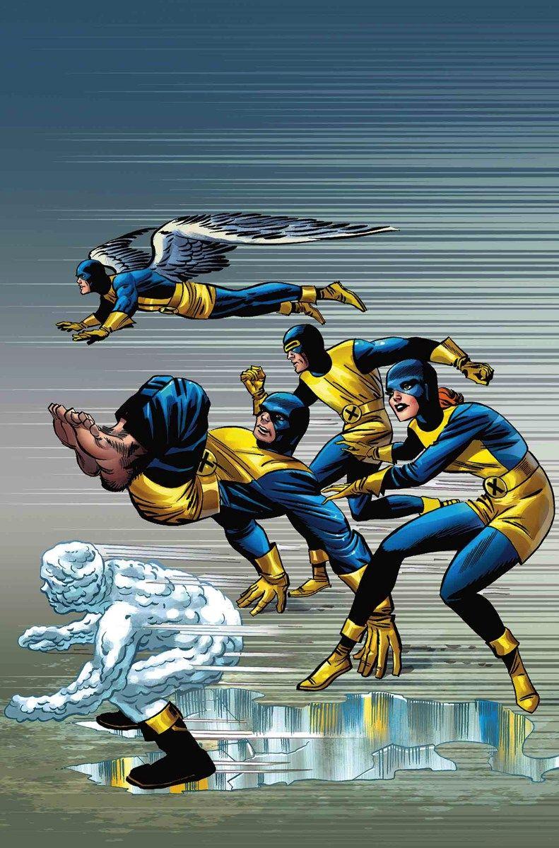 Original X Men Uniforms X Men Comics Marvel