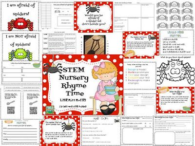 Stem Nursery Rhyme Time By The Science School Yard Using Everyday Materials To Create A
