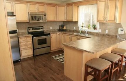 36 ideas kitchen wall colors with hickory dark wood # ...