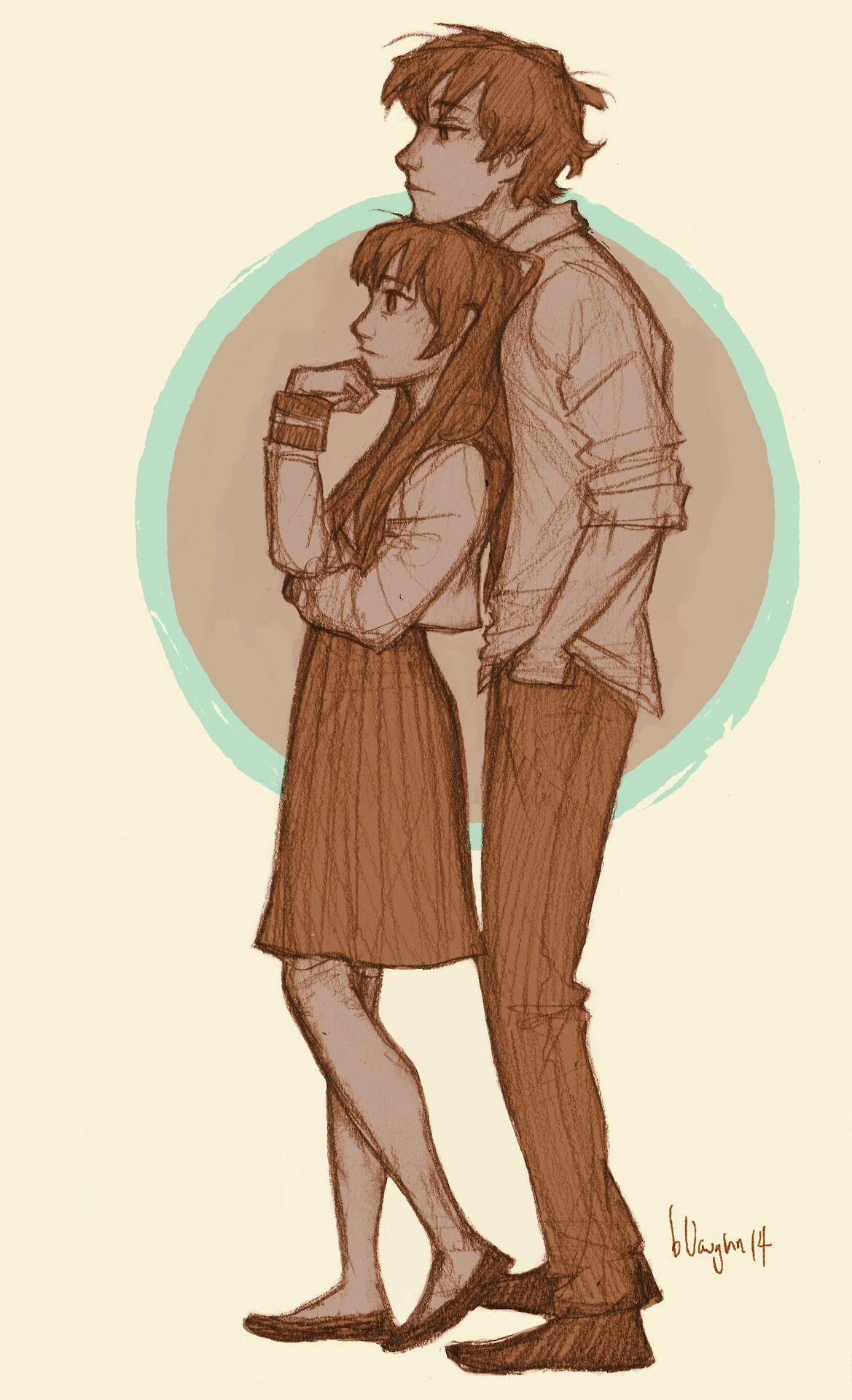I love Burdge! This is perfection! Oreki and Chitanda
