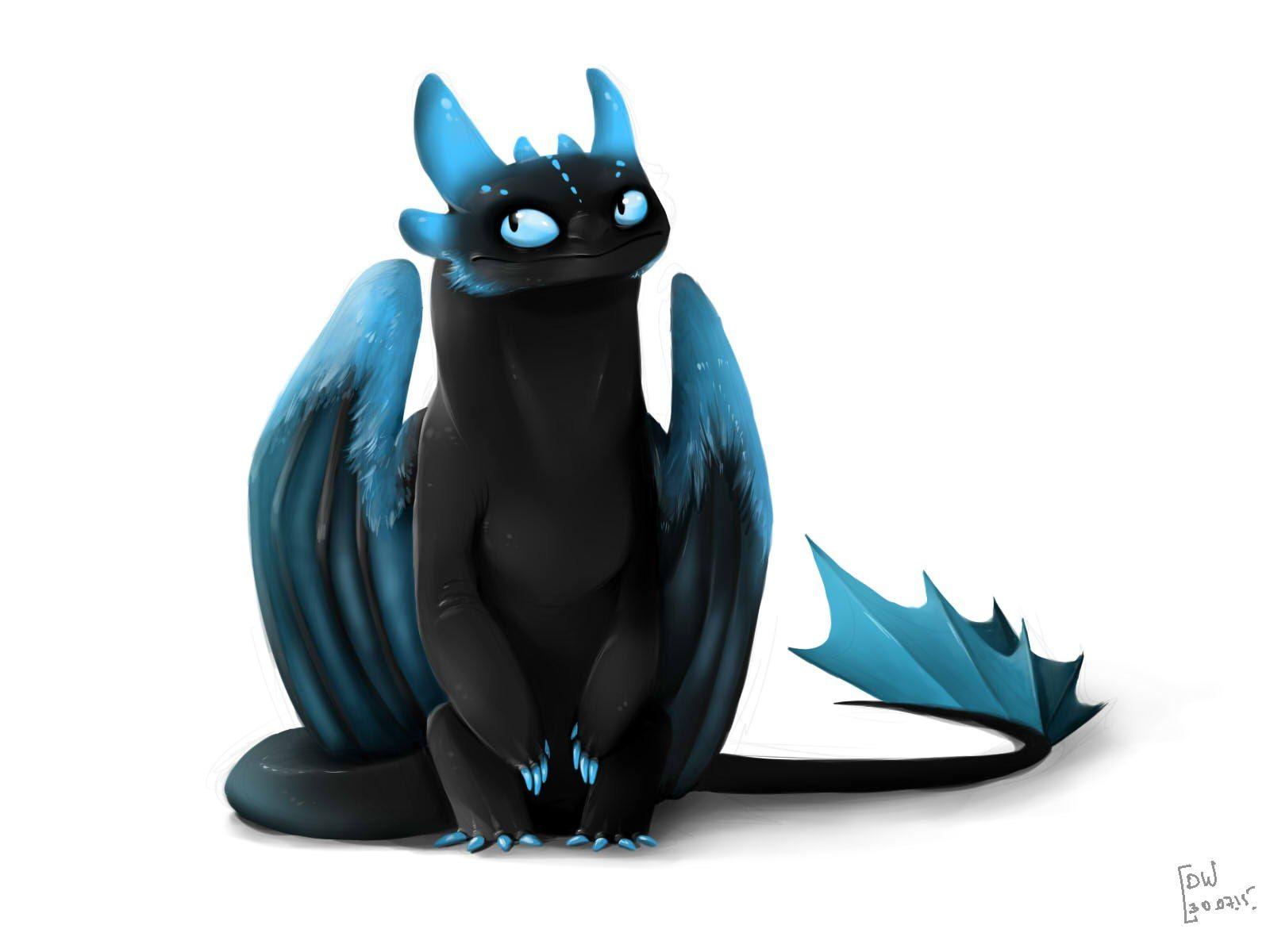 Pingl par c drine gr tter honsberger sur dragons - Furie nocturne dragon ...