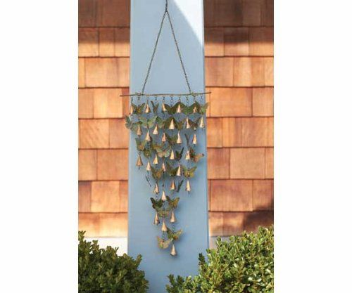 Great Shimmering Bells Butterflies   (Wind Garden Products) (Outside Ornaments) Ancient  Graffiti Http