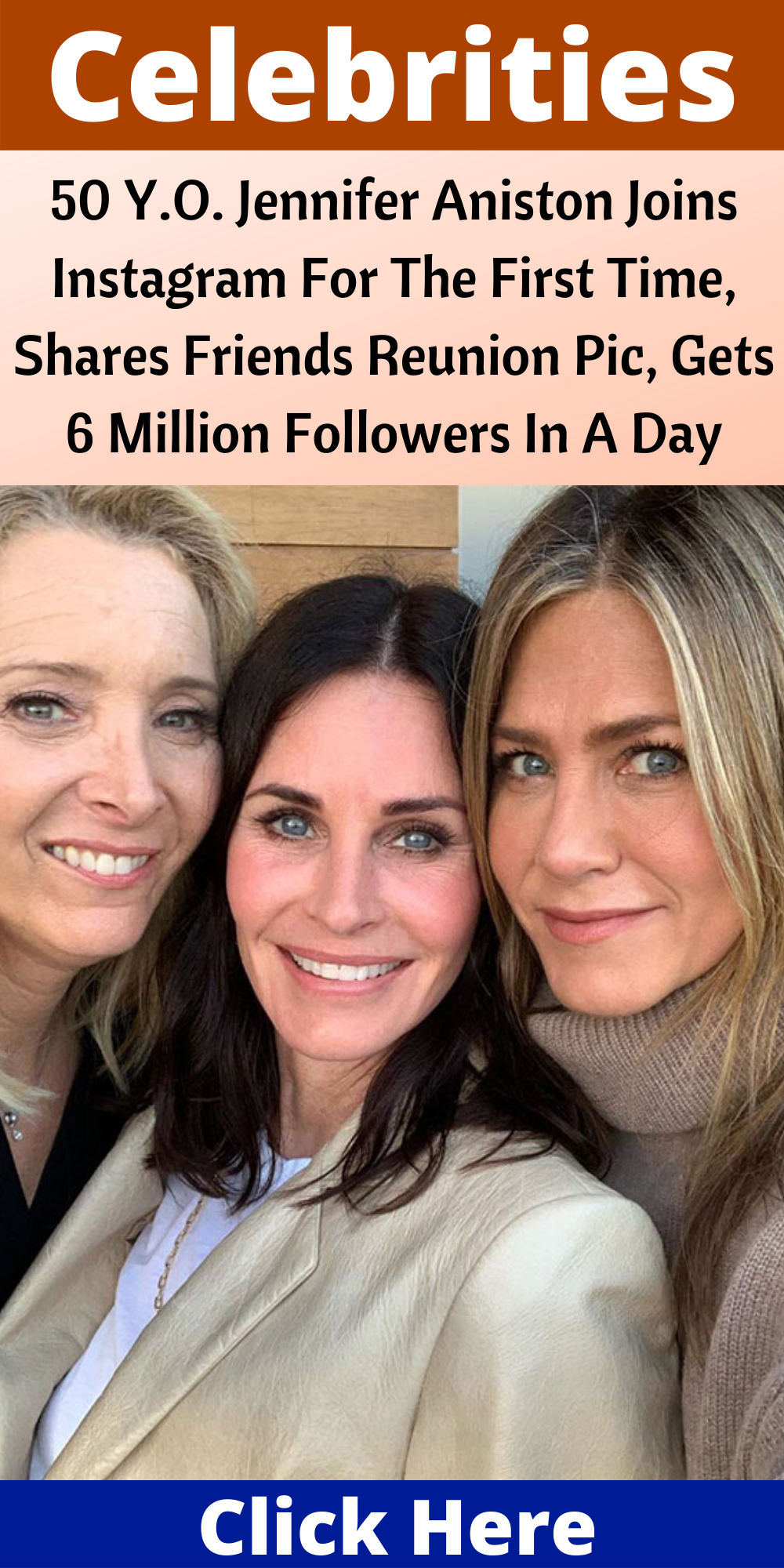 50 y o jennifer aniston joins instagram for the first time shares friends reunion pic gets 6 million followers in a day bored panda 50 Y O Jennifer Aniston Joins Instagram For The First Time Shares Friends Reunion Pic Gets 6 Million Follow Jennifer Aniston Friends Jennifer Aniston Join Instagram