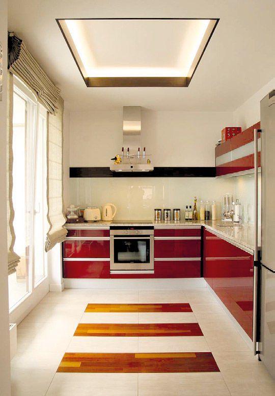 Modne Projekty Kuchni Oświetlenie Led W Kuchni Galeria